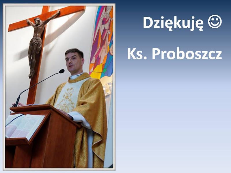 ksiądz proboszcz Robert Korbik