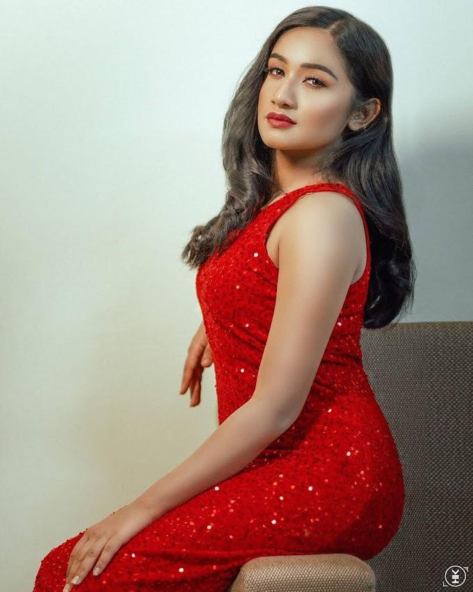 Tamil TV Actress Raveena Daha Latest Photoshoot Pic's