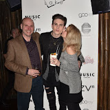 OIC - ENTSIMAGES.COM - Franklin Lake Band member Ed Goacher  at the  Franklin Lake - single launch party in London 1st March 2016 Photo Mobis Photos/OIC 0203 174 1069
