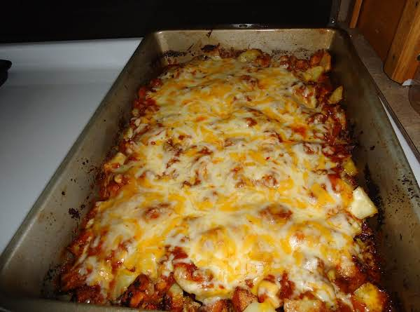 Chili Potato Bake Recipe