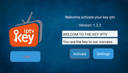 key iptv for PC-Windows 7,8,10 and Mac apk screenshot 1