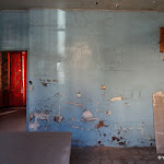 Rue du Pont : intérieur de maison abandonnée