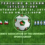 ISAUA Sport World Cup 2014 - Iran v Argentina June 21, 2014