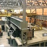 Modell einer Industrieanlage im Technikmuseum