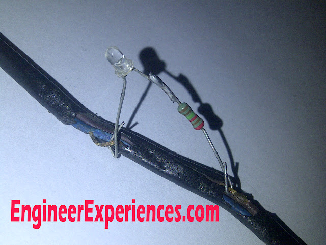 Soldering Iron with a LED