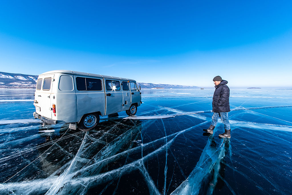 貝加爾湖 藍冰 Lake Baikal