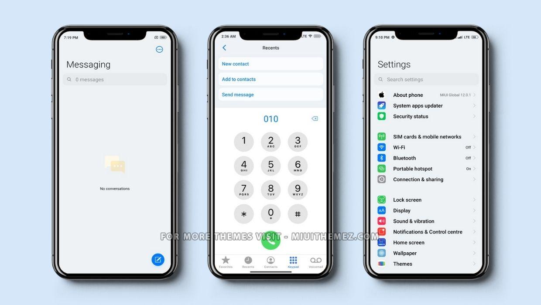 iOS15 Beta MIUI Theme