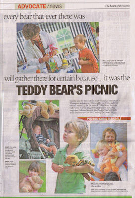 Jesse at the Teddy Bear's Picnic - Whangarei22nd Feb 2009