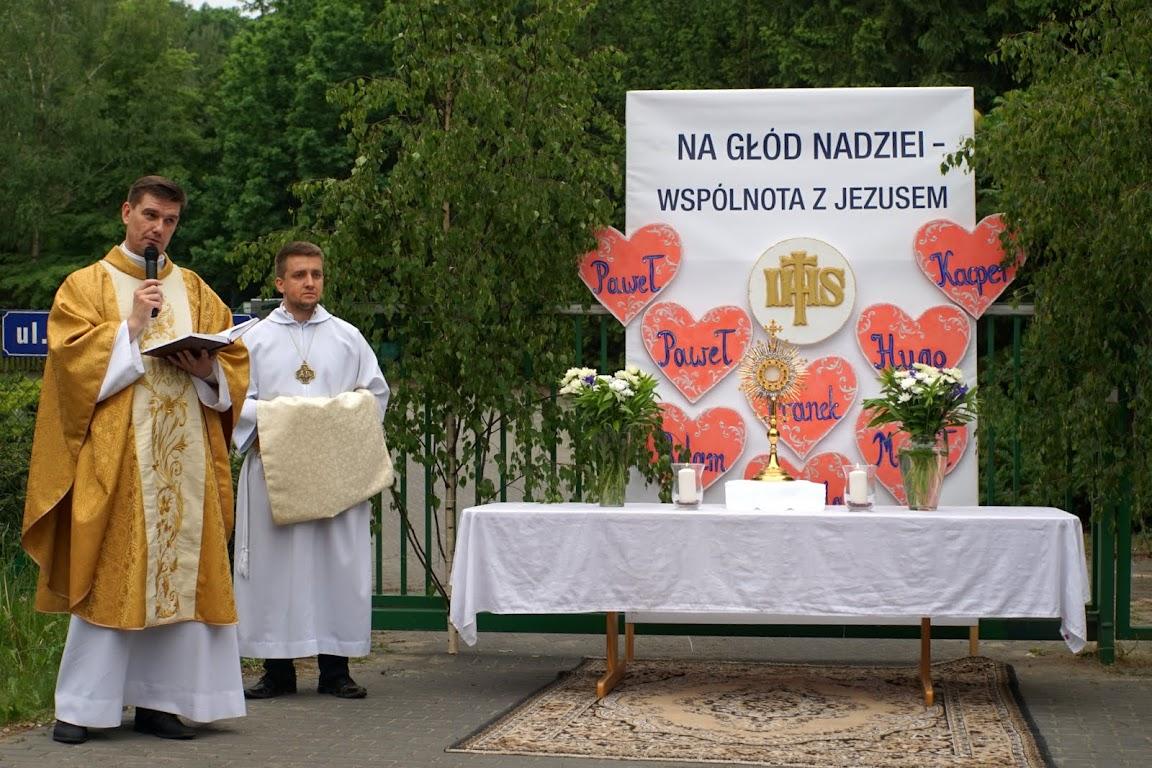 Procesja Bożego Ciała w parafii Zwiastowania Pańskiego 2016