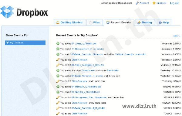 ดาวน์โหลด Dropbox 16 โหลดโปรแกรม Dropbox ล่าสุดฟรี