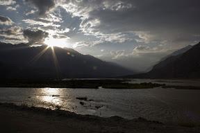 Sunset in Gahkuch