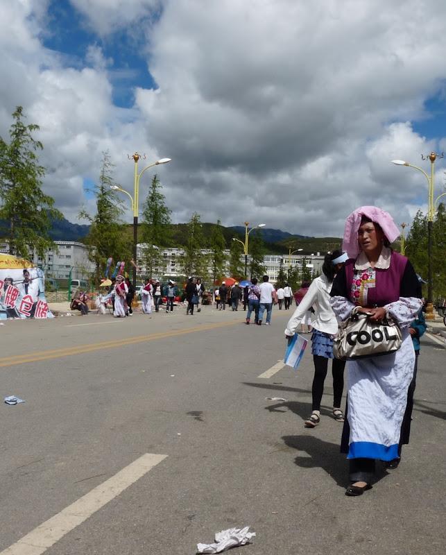 Chine. Yunnan.Shangri la Course hippique annuelle - P1250770.JPG
