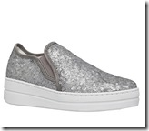 Kurt Geiger Louie sequined slip on sneakers