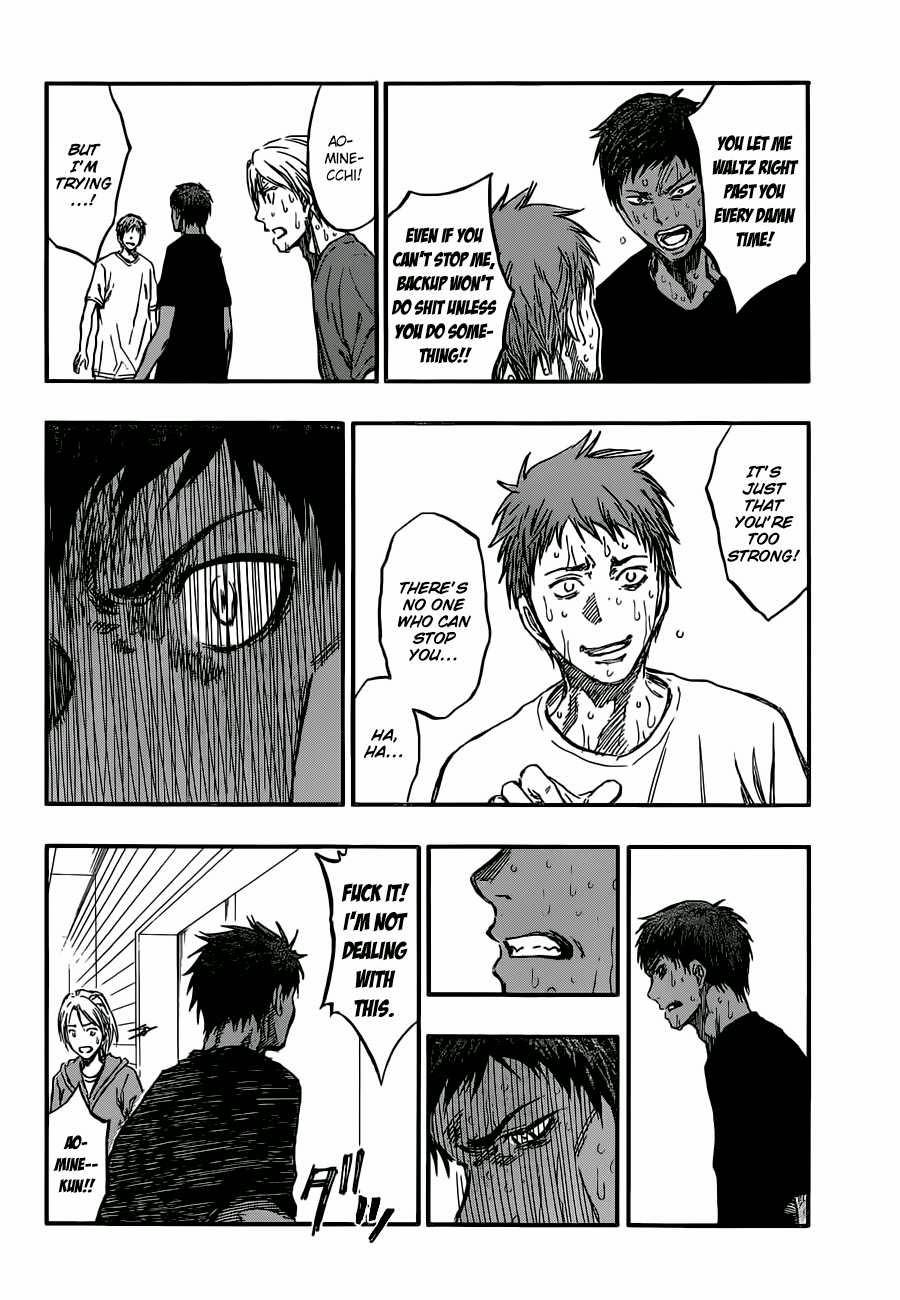 Kuroko no Basket Manga Chapter 220 - Image 10