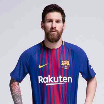 PHOTOS: Barcelona Unveils New Players' Jersey For Next Season