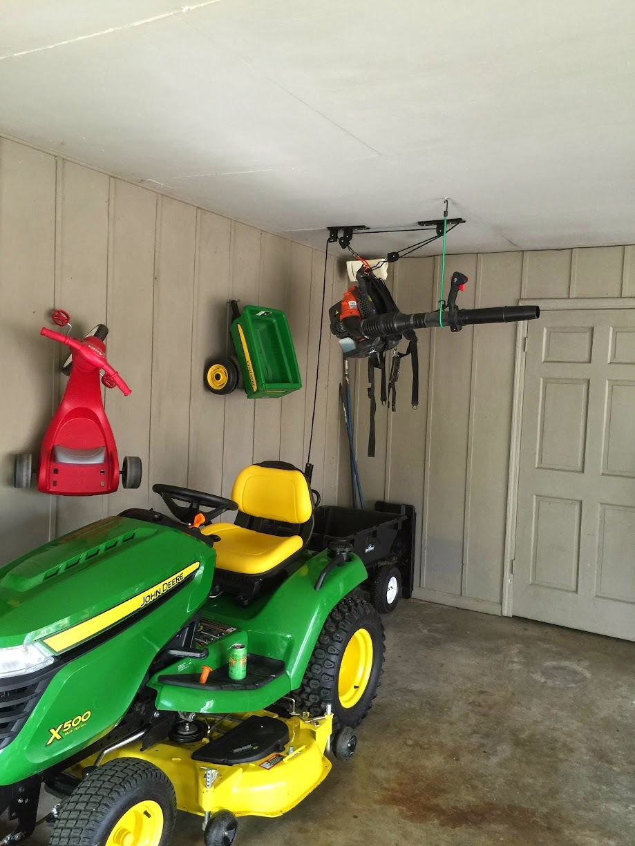 How To Hang A Backpack Leaf Blower Mytractorforum Com