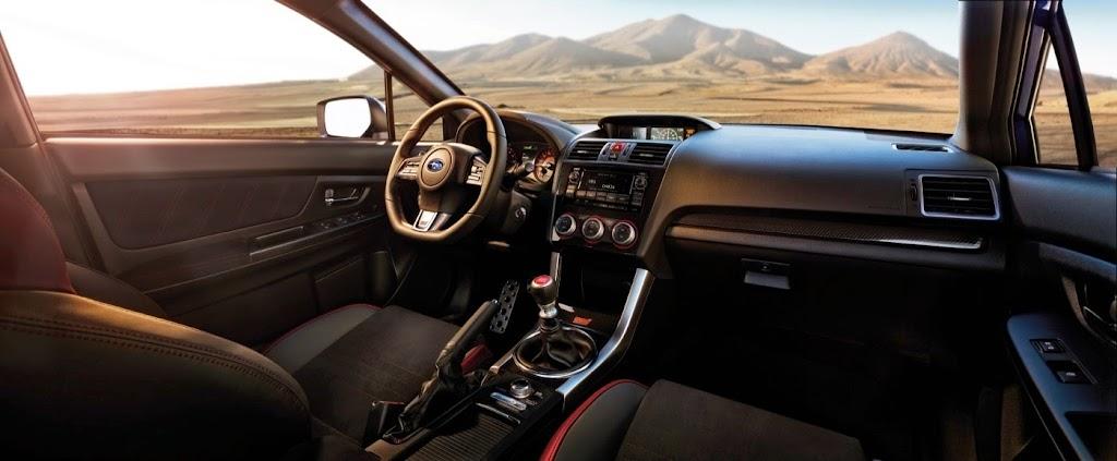 2015 Subaru WRX STI Launch Edition interior