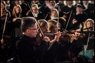 Photo: Geige: Bert Morgenstern - Konzertmeister in Rostock
