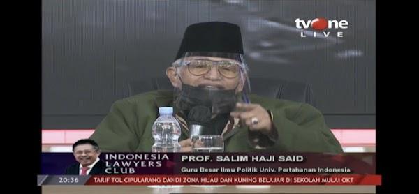 Bentrok TNI-Polri, Salim Said: Tentara ngeluh kok Negara Kepolisian Republik Indonesia