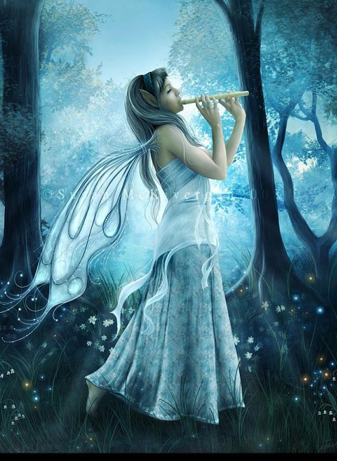 Girl With A Flute, Elven Girls