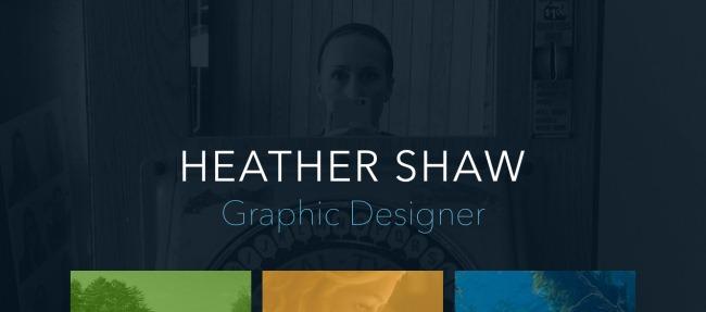 Heather Shaw muestra su trabajo con sencillez y elegancia.