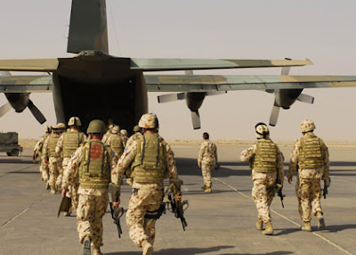 Australian troops leaving Afghanistan early
