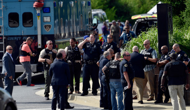 OMG! Gunman Attack Maryland Newsroom, Many Feared Dead (Photos)