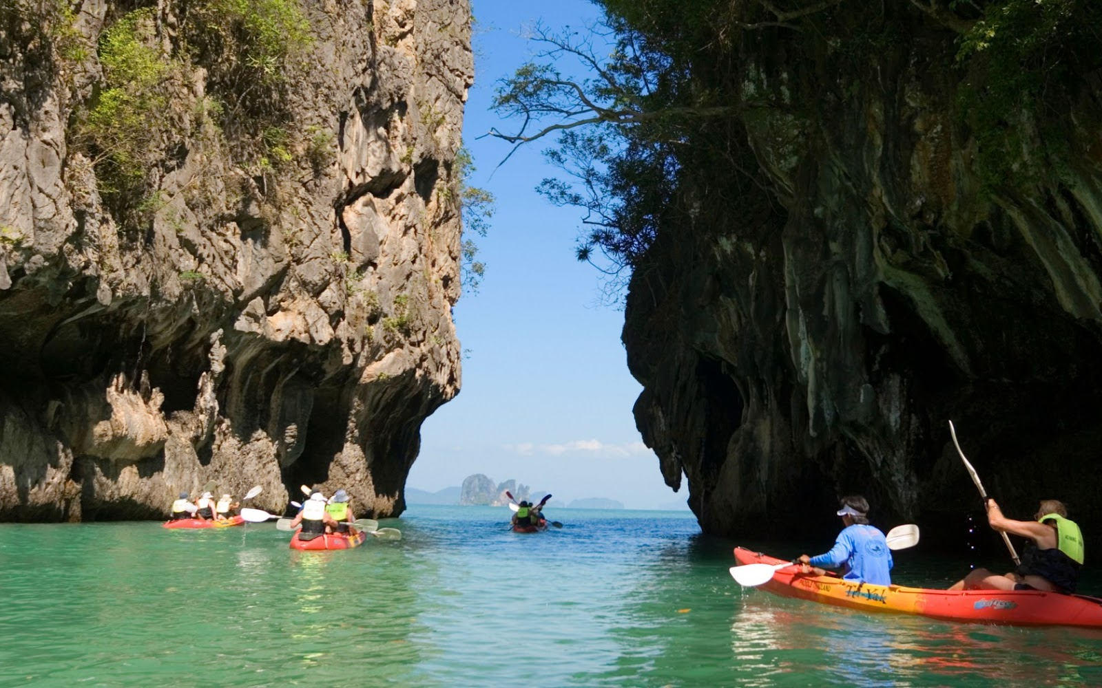 Sea Kayaking at Hong Island from Ao Thalane