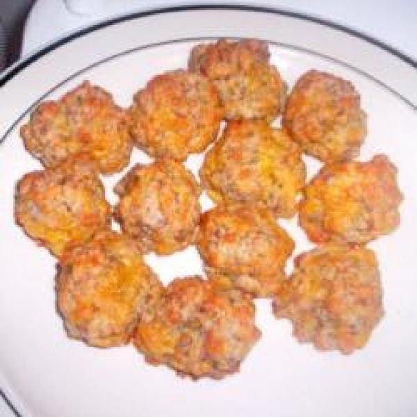 Sausage-cheese Balls Recipe