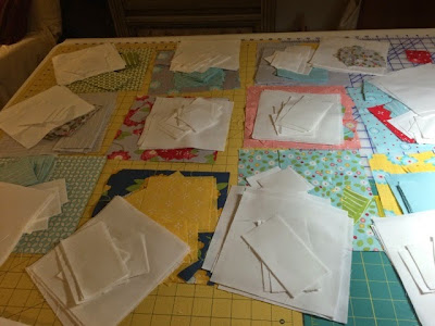 Bloomerie Quilt Along Update