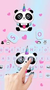 Cute Panda Keyboard Theme 2