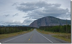 East of Haines Junction, back on Alaska Highway