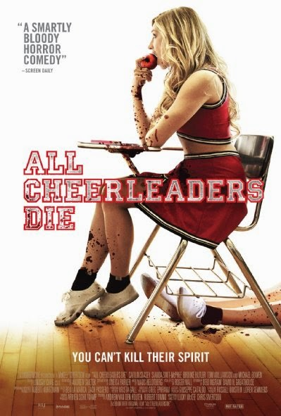Poster Of English Movie All Cheerleaders Die (2013) Free Download Full New Hollywood Movie Watch Online At Alldownloads4u.Com