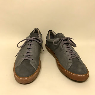 Common Projects Gray Lace Ups