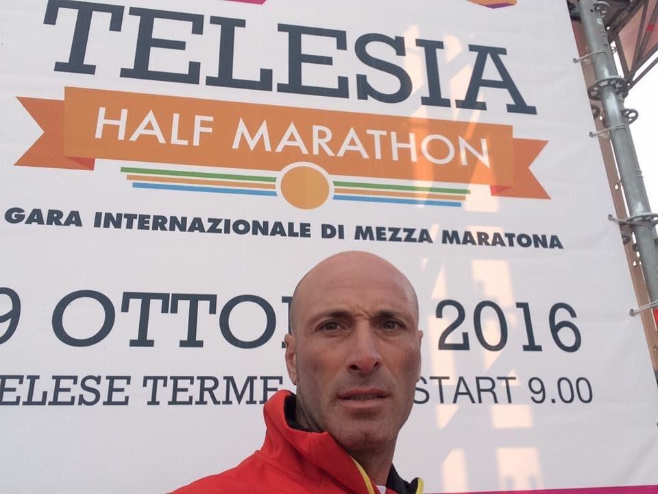 Raimondo alla mezza di Telese 2016