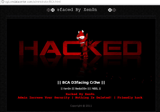 25 Websites hacked by Bangladeshi hackers | SmArt HacKer