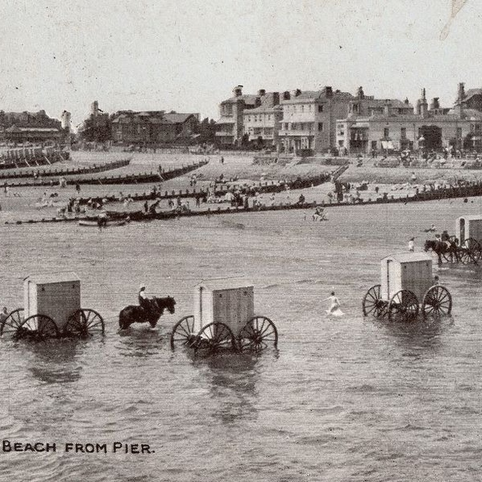 Bathing Machines of The 19th Century