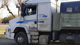 Camioneros de Chacabuco en San Juan