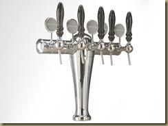 FALCO пивная колонна на 5 сортов пива