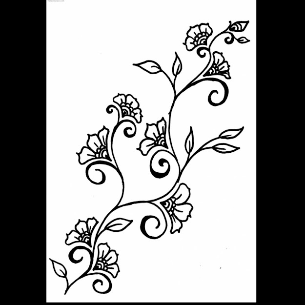Awesome Hawaiian Flowers Tattoos Design Drawing With Hawaii Coloring Pages  And Hawaii Christmas Coloring Pages