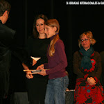 Premios Categoría B: 1º PREMIO (Ex aequo) - Paula Ballester Beneito (España) - Ennio Tito Gagliasso (Italia) • 2º PREMIO - Elena Martín Olbrich (España) • 3ª PREMIO - Giacomo Giuffredi (Italia). Recoge Elena Martín Olbrich