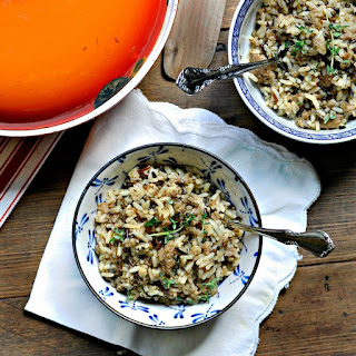 Easy Fast Holiday Side Dish Sausage and Rice