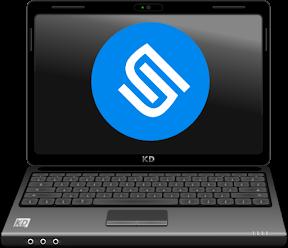 Crear un Live USB para probar e instalar el mejor sistema operativo. Logo.