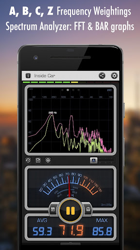 Screenshot for Decibel X PRO - Sound Meter dBA, Noise Detector in United States Play Store