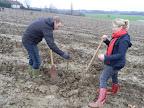 20120128-boomplantactie-preshoekbos / Thomas en Ellen