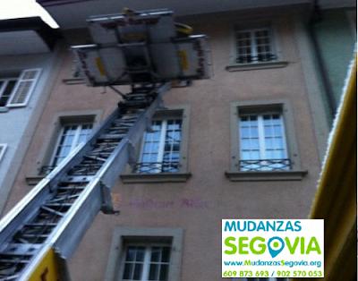 Mudanzas de empresas en Segovia