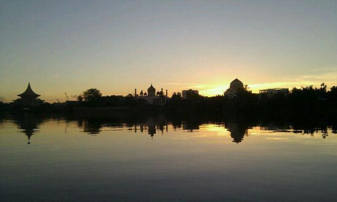 Sarawak River Sunrise