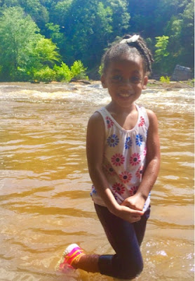 sweetwater creek state park black brown girl water