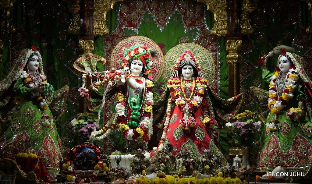 ISKCON Juhu Sringar Deity Darshan on 3rd May 2016 (1)
