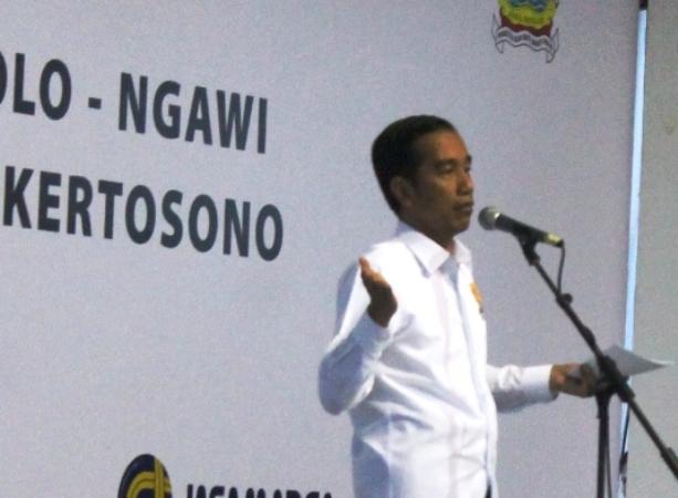 Jokowi rencananya akan Cek Progres Tol Solo-Kertosono yang dimulai dari ruas Ngawi-Kertosono.